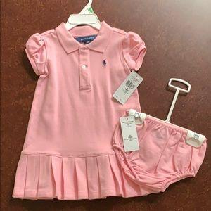 Brand New Ralph Lauren 18 mo Girls Tennis Dress